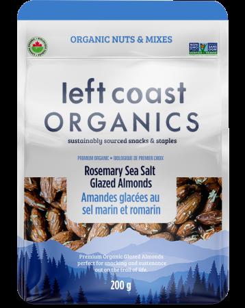 Rosemary Sea Salt Glazed Almonds